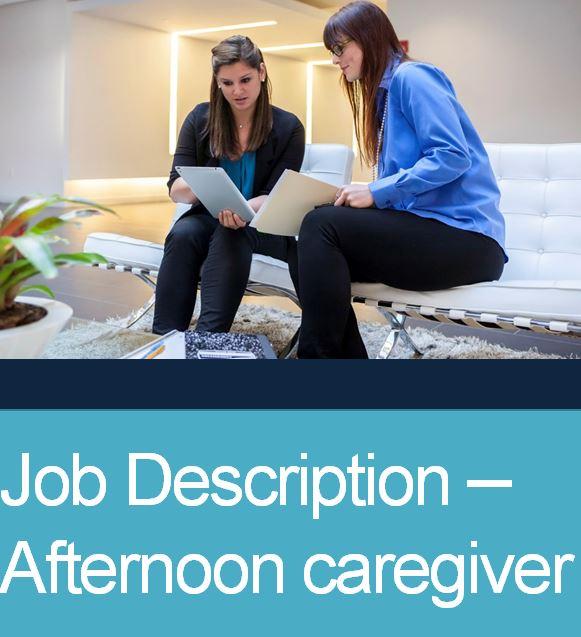 JD Afternoon Caregiver